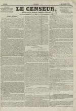 Le Censeur : journal de Lyon, politique, industriel et littéraire, N°68