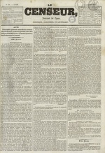 Le Censeur : journal de Lyon, politique, industriel et littéraire, N°681