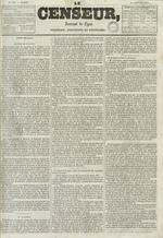 Le Censeur : journal de Lyon, politique, industriel et littéraire, N°682