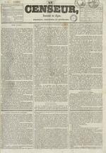 Le Censeur : journal de Lyon, politique, industriel et littéraire, N°684