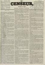 Le Censeur : journal de Lyon, politique, industriel et littéraire, N°683
