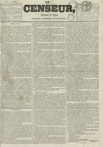 Le Censeur : journal de Lyon, politique, industriel et littéraire, N°685