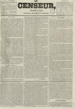 Le Censeur : journal de Lyon, politique, industriel et littéraire, N°687