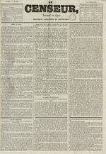Le Censeur : journal de Lyon, politique, industriel et littéraire, N°688
