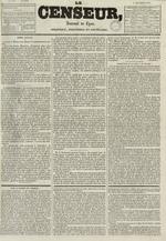 Le Censeur : journal de Lyon, politique, industriel et littéraire, N°689