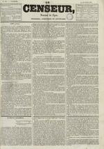 Le Censeur : journal de Lyon, politique, industriel et littéraire, N°691