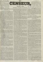Le Censeur : journal de Lyon, politique, industriel et littéraire, N°690