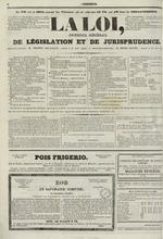Le Censeur : journal de Lyon, politique, industriel et littéraire, N°695, pp. 4