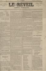 Le Réveil : journal Paris-Lyon, N°1