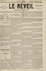 Le Réveil : journal Paris-Lyon, N°2