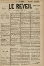 Le Réveil : journal Paris-Lyon, N°6
