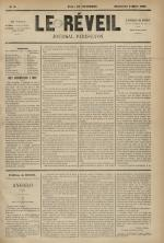 Le Réveil : journal Paris-Lyon, N°8