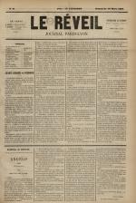 Le Réveil : journal Paris-Lyon, N°9