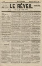 Le Réveil : journal Paris-Lyon, N°4
