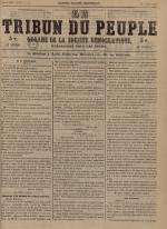 Le Tribun du peuple : organe de la Société démocratique - se distribue à Lyon, N°24