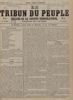 Le Tribun du peuple : organe de la Société démocratique - se distribue à Lyon, N°31
