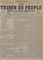 Le Tribun du peuple : organe de la Société démocratique - se distribue à Lyon, N°32