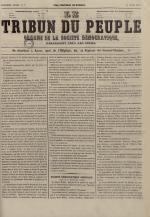 Le Tribun du peuple : organe de la Société démocratique - se distribue à Lyon, N°7