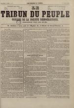 Le Tribun du peuple : organe de la Société démocratique - se distribue à Lyon, N°8