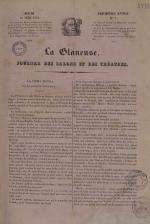 La Glaneuse : journal populaire, N°1