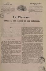 La Glaneuse : journal populaire, N°10