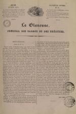 La Glaneuse : journal populaire, N°3