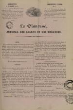 La Glaneuse : journal populaire, N°7