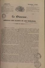 La Glaneuse : journal populaire, N°69, pp. 1