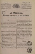 La Glaneuse : journal populaire, N°8