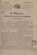 La Glaneuse : journal populaire, N°9