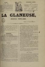La Glaneuse : journal populaire, N°231
