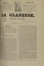 La Glaneuse : journal populaire, N°235