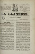 La Glaneuse : journal populaire, N°298