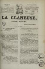 La Glaneuse : journal populaire, N°293