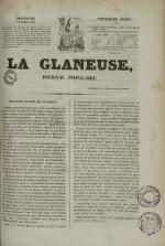 La Glaneuse : journal populaire, N°299