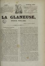 La Glaneuse : journal populaire, N°300