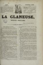 La Glaneuse : journal populaire, N°301