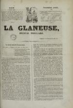 La Glaneuse : journal populaire, N°310