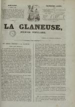 La Glaneuse : journal populaire, N°312