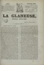 La Glaneuse : journal populaire, N°314