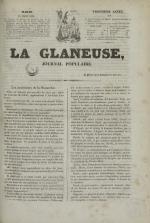 La Glaneuse : journal populaire, N°316
