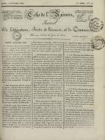 Echo de l'univers : journal de littérature, sciences et arts, et de commerce, N°112