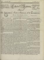 Echo de l'univers : journal de littérature, sciences et arts, et de commerce, N°111