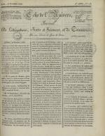 Echo de l'univers : journal de littérature, sciences et arts, et de commerce, N°113