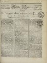 Echo de l'univers : journal de littérature, sciences et arts, et de commerce, N°116