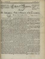 Echo de l'univers : journal de littérature, sciences et arts, et de commerce, N°115