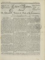 Echo de l'univers : journal de littérature, sciences et arts, et de commerce, N°12