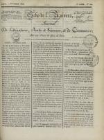 Echo de l'univers : journal de littérature, sciences et arts, et de commerce, N°120