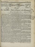 Echo de l'univers : journal de littérature, sciences et arts, et de commerce, N°121