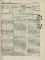 Echo de l'univers : journal de littérature, sciences et arts, et de commerce, N°15